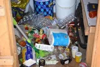 Pantry After Earthquake
