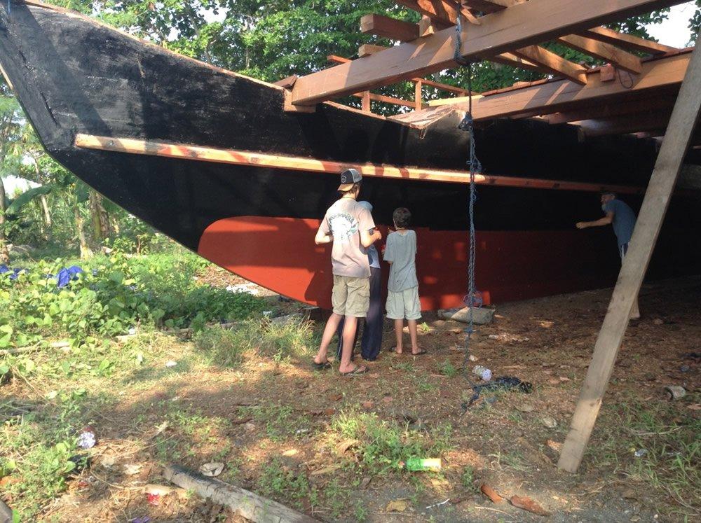 Building the Catamaran