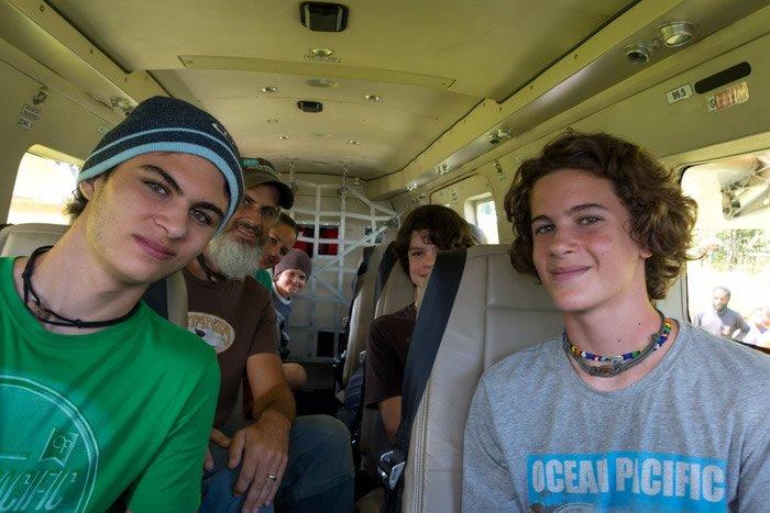 Wild Men in a Plane