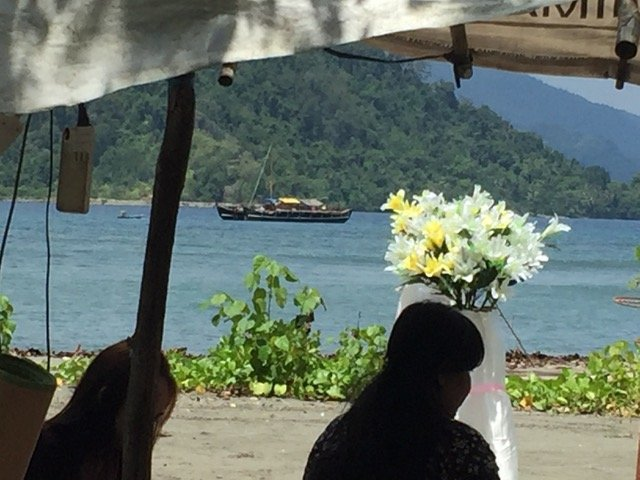 Wedding near Cenderawasih Bay