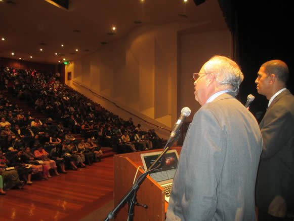 Alan White speaking