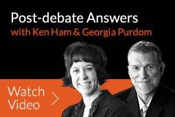 Nye-Ham Debate Answers
