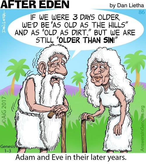 After Eden 86: Older than...
