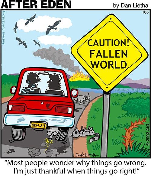 After Eden 105: Caution: Fallen World