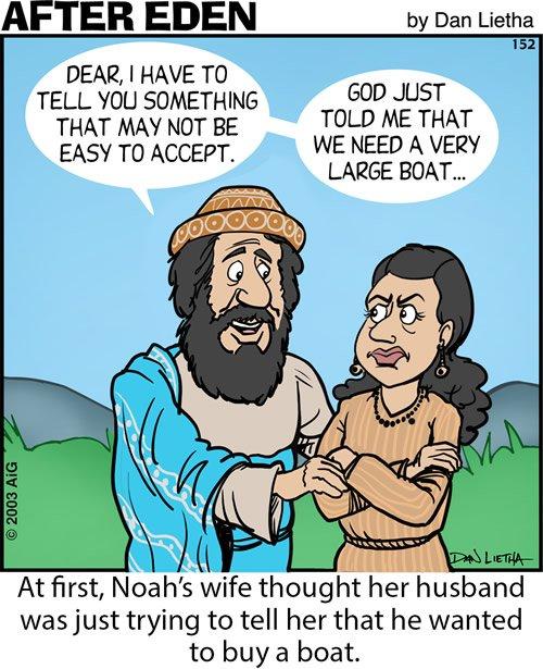 After Eden 152: Noah Wants a Boat?
