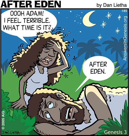After Eden 185: Time Frame Is Everything