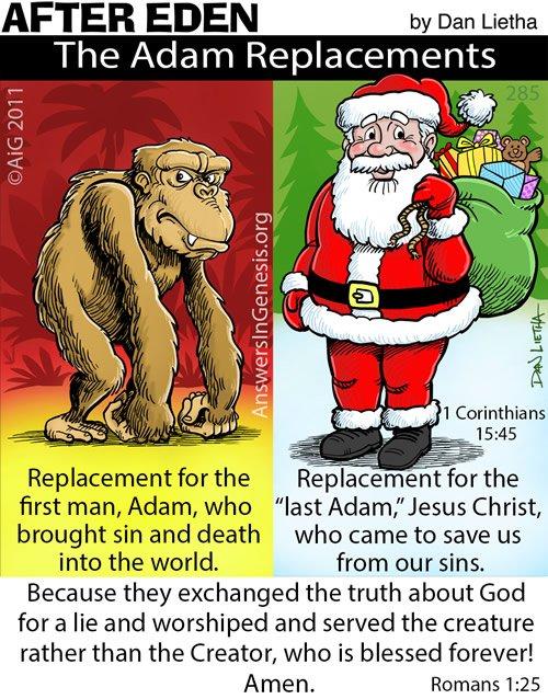 After Eden 285: Keep Adam in Christmas!