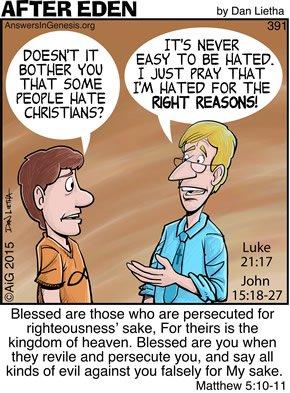 After Eden 391: Hated Christians