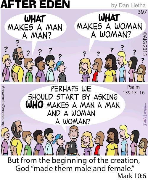After Eden 397: Maker of Men and Women