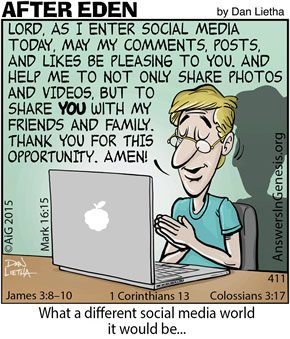 After Eden 411: Social Media Prayer