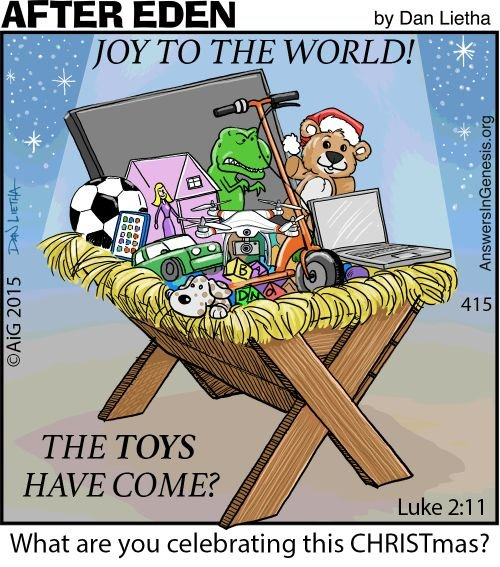 After Eden 415: Toys to the World?