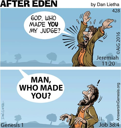 After Eden 428: My Maker, My Judge