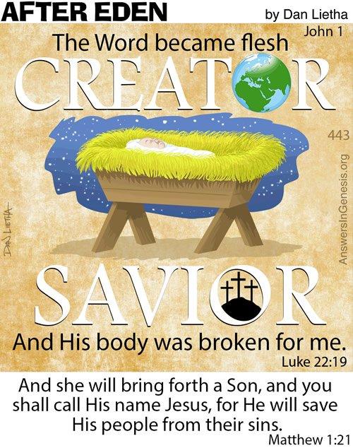 After Eden 443: The Word Became Flesh