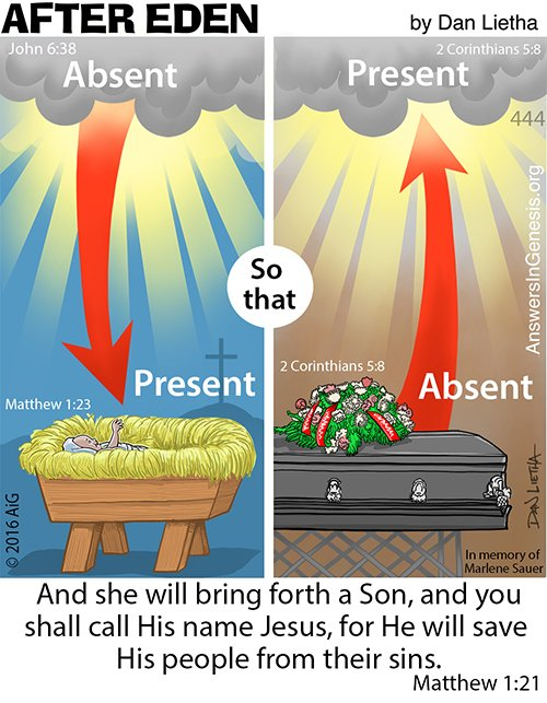 After Eden 444: With the Lord