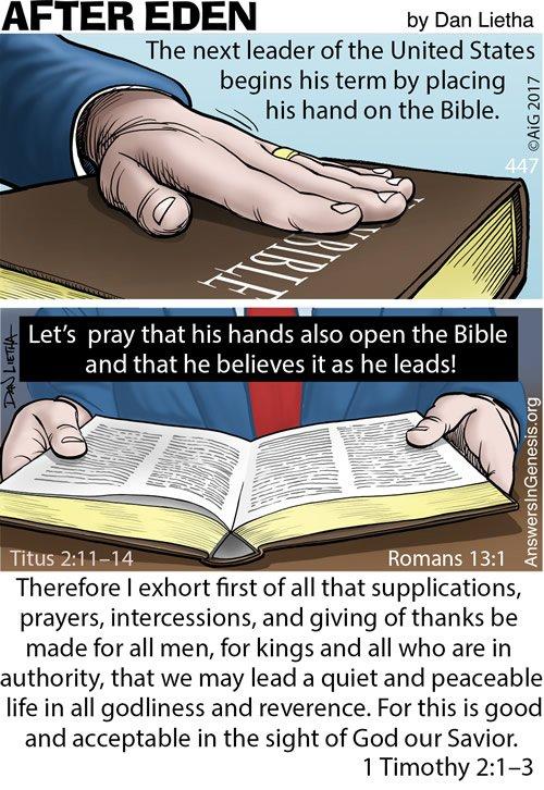 After Eden 447: Leading Hands