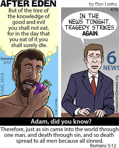 After Eden 476: Through Adam