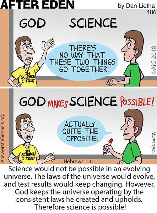 After Eden 486: Science Works!