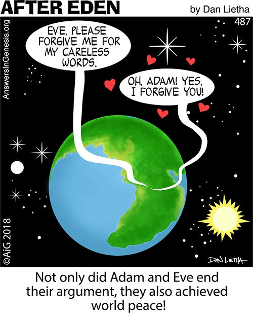 After Eden 487: World Peace