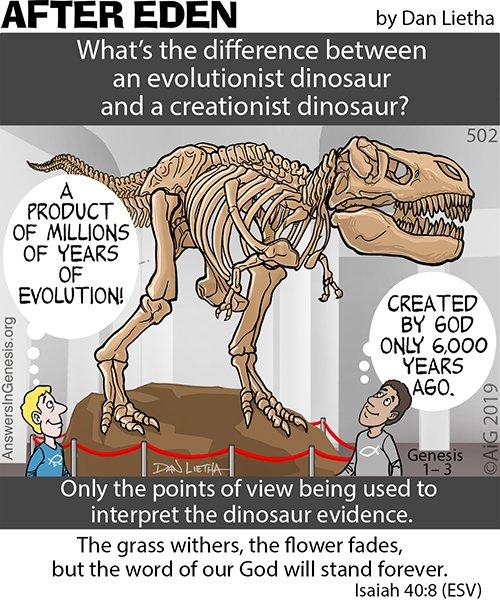 After Eden 502: Dinosaur Thinking