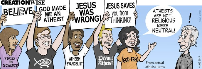 Creation Wise: Neutral Atheists