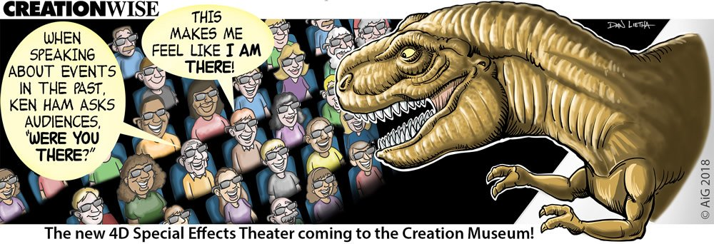 Creation Wise: Creation Musum's New 4D Theater