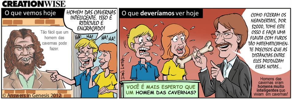 Creation Wise: Caveman (Portuguese)