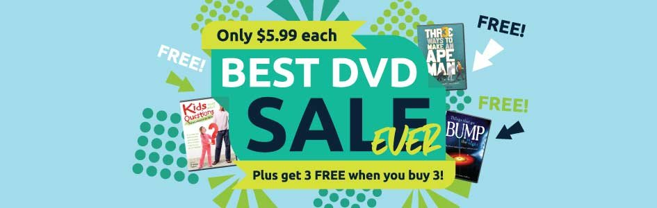 Our Best DVD Sale Ever and More!