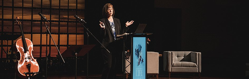 Dr. Georgia Purdom at Answers for Women Conference