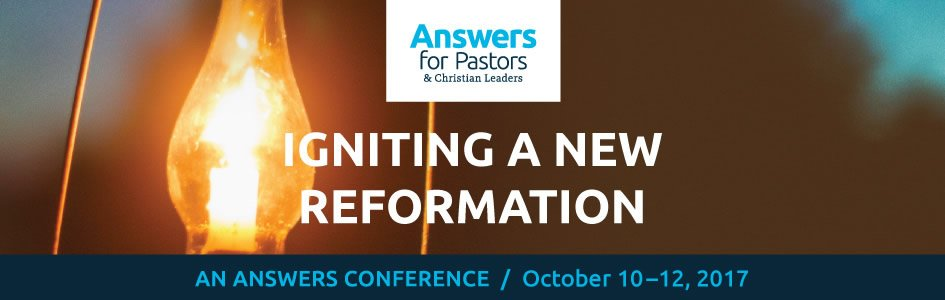 Don't Miss Early Bird Pricing for Our Answers for Pastors and Christian Leaders Conference