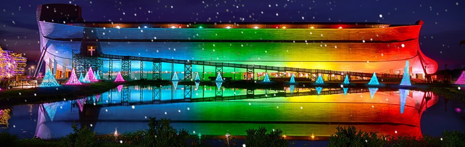 Encounter the Wonder with ChristmasTime at the Ark Encounter