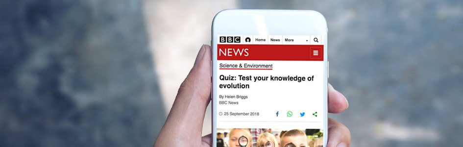 Taking the BBC's Evolution Test