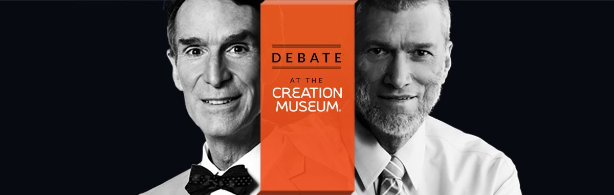 Third Anniversary of the Bill Nye/Ken Ham Debate