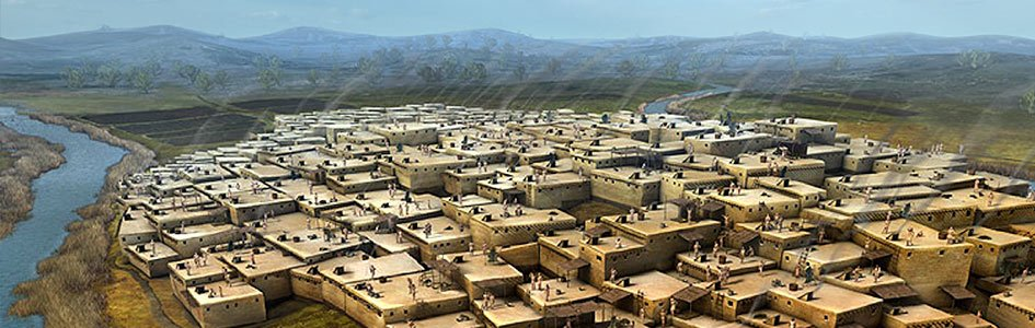 Çatalhöyük – pierwsze miasto, które powstało po rozproszeniu ludzi spod wieży Babel?