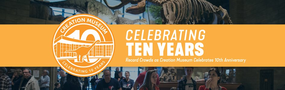 Record Crowds as Creation Museum Celebrates 10th Anniversary