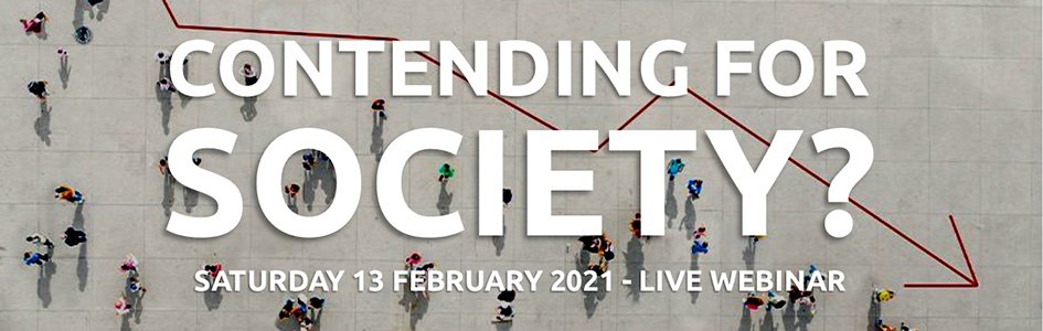 """Don't Miss """"Contending for Society,"""" an Online Event, February 13"""