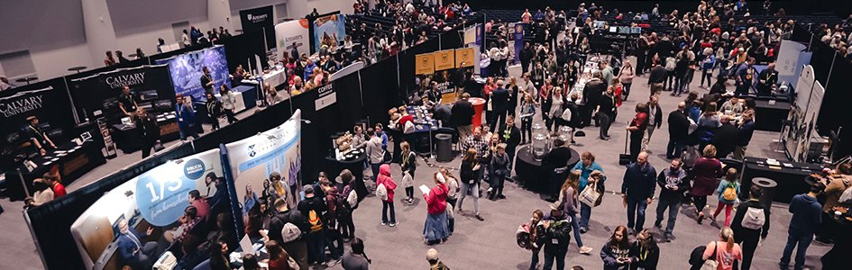 College Expo Crowds