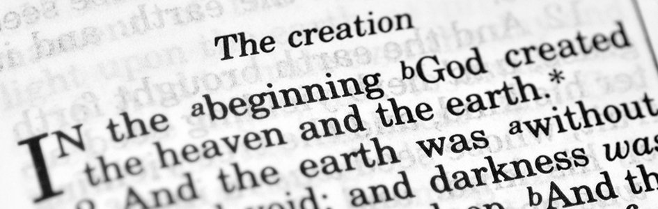 Bible Teaches Creation