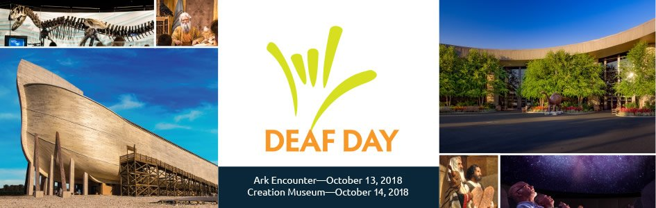 Deaf Day 2018 at the Ark Encounter and Creation Museum