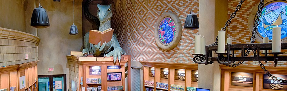 """Feedback: Why Did We Name the Creation Museum's Bookstore """"Dragon Hall""""?"""