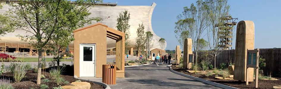 """""""Steles"""" Installed at the Ark Encounter"""