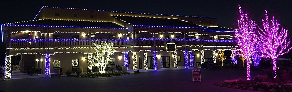 Beautiful Christmas Lights at the Ark Encounter
