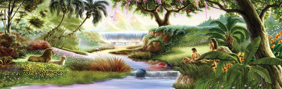 Where was the garden of eden located answers in genesis River flowing from the garden of eden