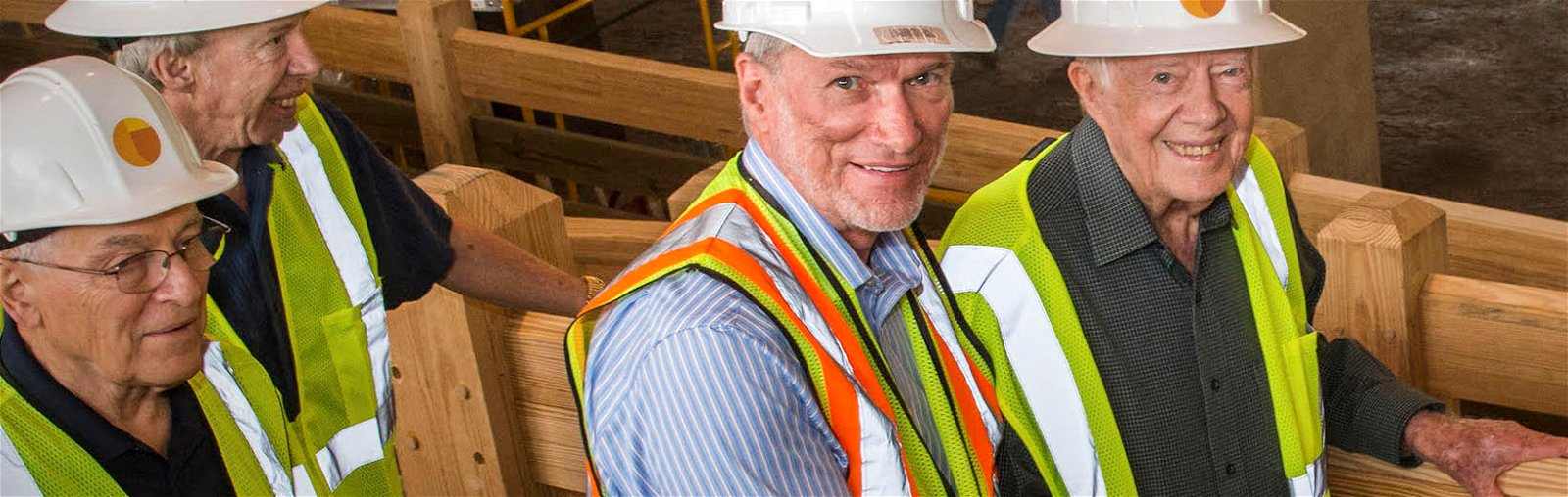 President Jimmy Carter Tours Ark Encounter