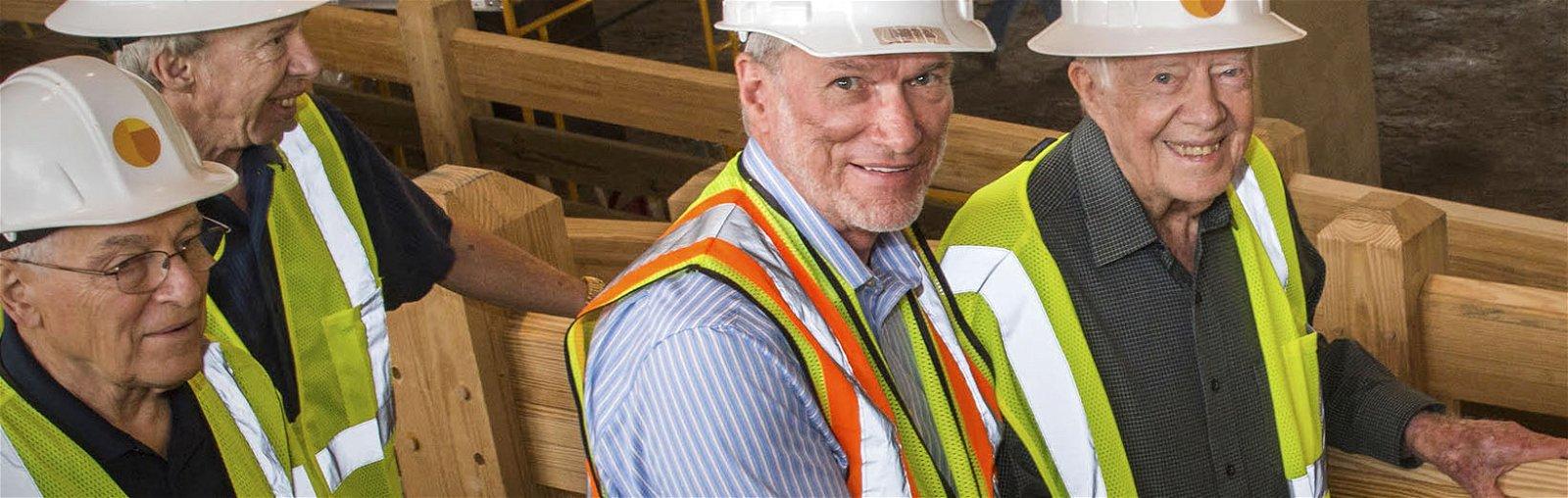 President Jimmy Carter Tours Ark Encounter