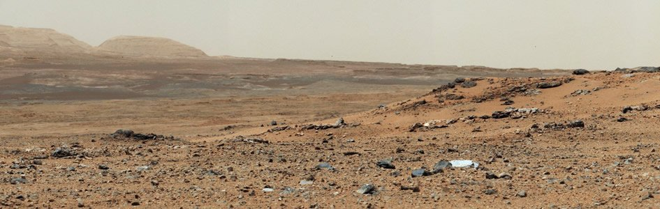 Looking for Hints for Life on Mars
