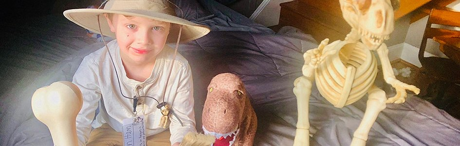 Meet a Budding 7-Year-Old Paleontologist