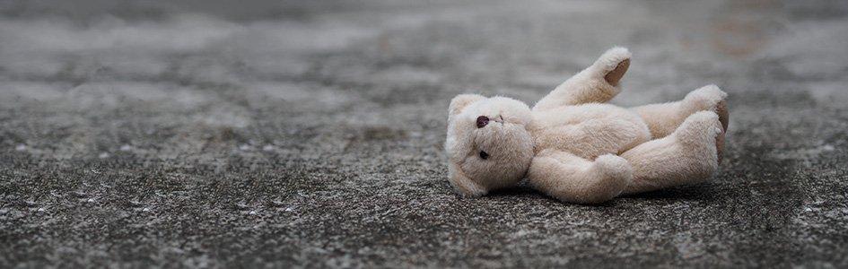 Teddy Bear on Ground