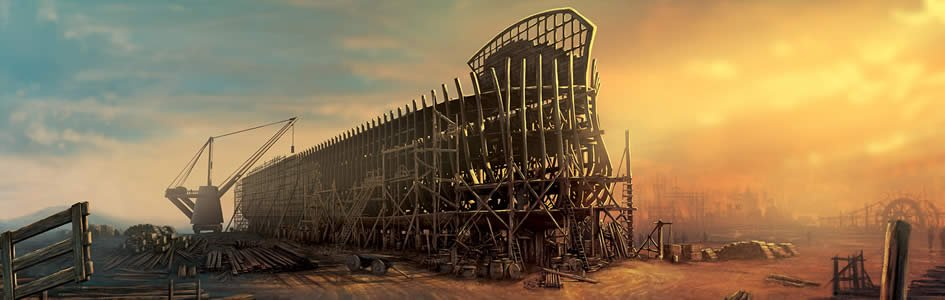 Full-Size Replica of Noah's Ark Complete in the Netherlands