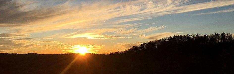 Sun Over the Horizon