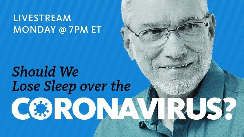 Watch Ken Ham's Devotional: Should You Lose Sleep over the Coronavirus
